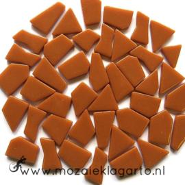 Mozaiek puzzelstukjes Glas 100 gram Bruin 095