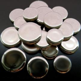 Keramiek Cirkel  3 maten Zilver 1001