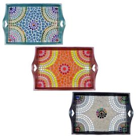 Mozaiekpakket 32 Dienblad Arcade 3 kleuren
