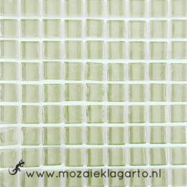 Glastegeltje Murrini Ivoor per 81 tegeltjes 040