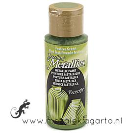 Acrylverf Metallic 59 ml Festive Green 26775