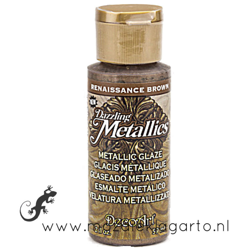 Acrylverf Metallic 59 ml Renaissance Brown