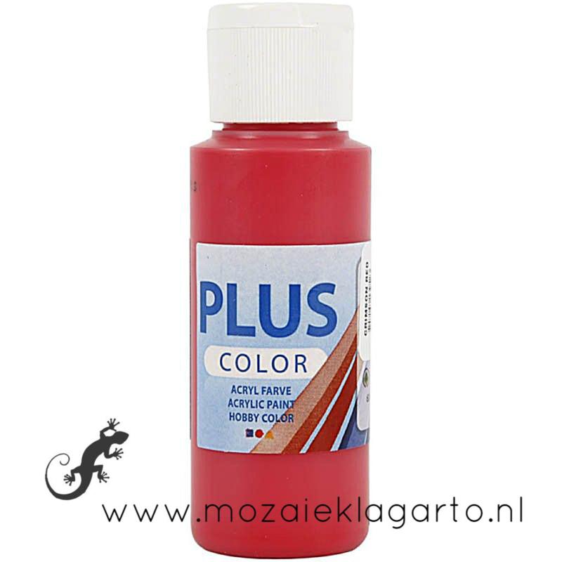 Acrylverf  59 ml Crimson Rood 39628