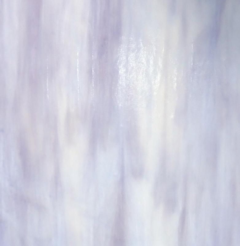 Glasplaat 20 x 20 cm Lila/Wit Opaal  W2180o