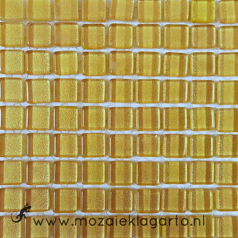 Glastegeltje Murrini Goud per 81 tegeltjes 108