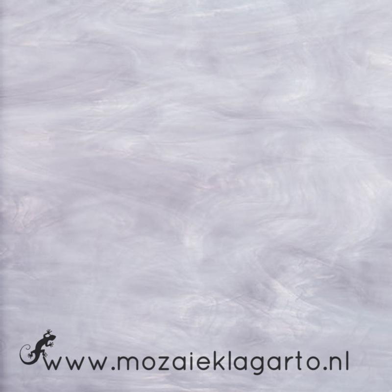 Glasplaat 20 x 20 cm Semi Translucent  Lavendel/Wit SO843-71st