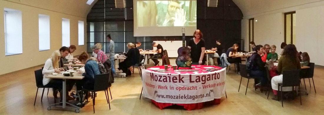 Mozaiek Lagarto Workshop Hermitage