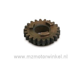 schakeltandewiel 3e versnelling (22 tanden) ETZ 125-150