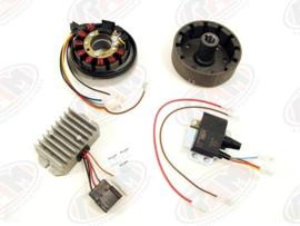 volledig elektronische ontsteking  VAPE (12V 180W etz250)