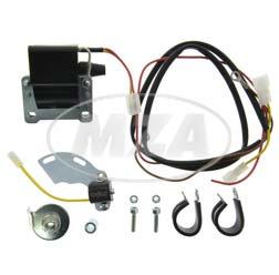 Elektronische ontsteking zonder alternator (etz125/150/250)