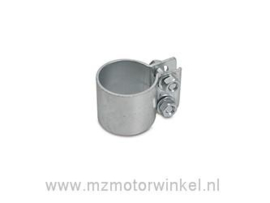 uitlaatklem klein TS250 zink 40 mm