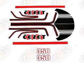 sticker set CZ 350
