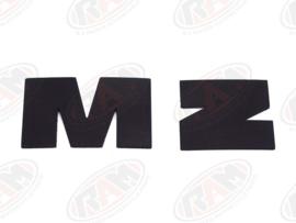 badge voor de tank etz 125/150/251 (kleur zwart)