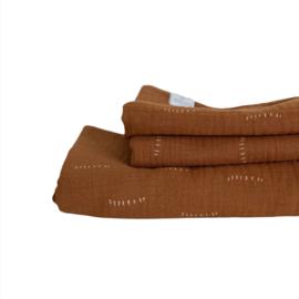 Swaddle  - Stripes cinnamon
