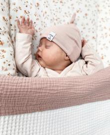 Newborn Mutsje los - Old pink