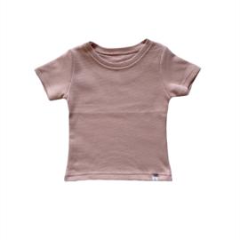 Shirt - Basic old pink