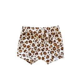 Korte broek - Leopard brown