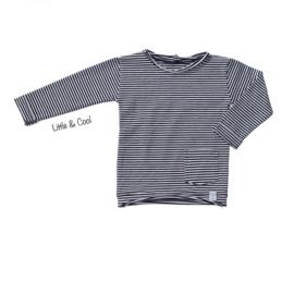 Longsleeve - Zwart wit streepjes