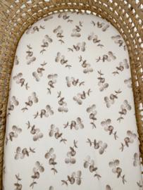 Matrashoes Mozes verschoonmandje - Eucalyptus Beige