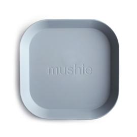 MUSHIE | PLATES Square - Cloud (2 stuks)