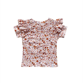 Shirt - RUFFEL duizend bloemen