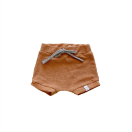 Korte broek - Badstof Camel