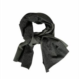 Sjaal - Leopard  khaki