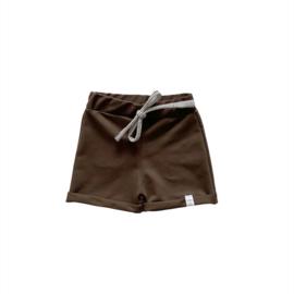 Korte broek - Dark brown