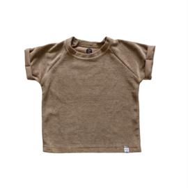 shirt - Badstof taupe