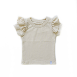 Shirt - RUFFLE naturel