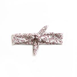 Haarband Breed - Floral pink