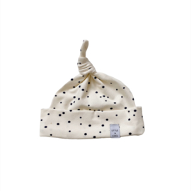 Newborn Mutsje los - Dots Naturel