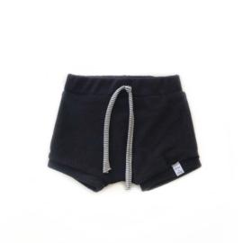Korte broek - Badstof zwart