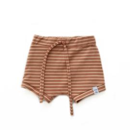 Korte broek -Camel streepjes
