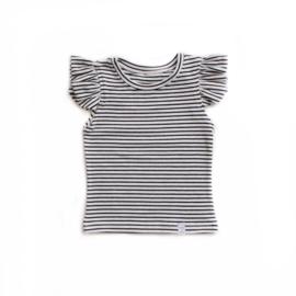Shirt - RUFFLE streep