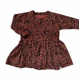 Jurkje - Leopard terra velvet