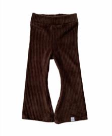 Flared - Rib bruin