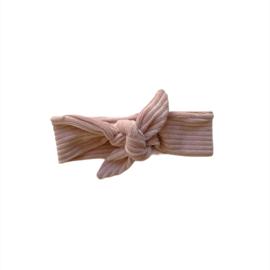 Haarband Breed - Rib pink