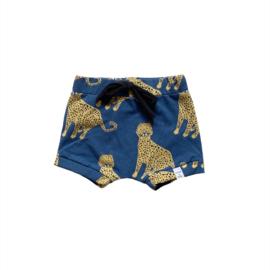 Korte broek - Tijger blauw