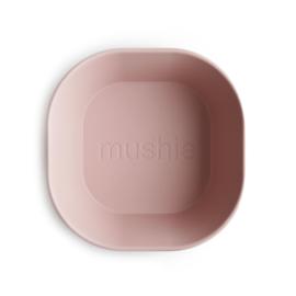MUSHIE | BOWL Square -BLUSH  (2 stuks)