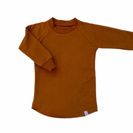 Sweater Dress Cognac