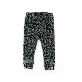 Broekje - Velvet leopard khaki *