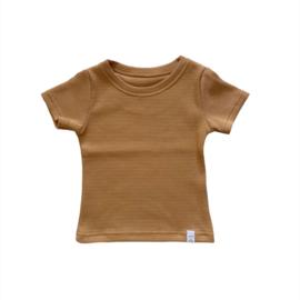 Shirt - Basic camel