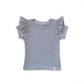 Shirt - RUFFLE mini streep