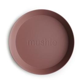 MUSHIE | PLATES Round - Woodchuck (2 stuks)