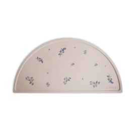 Mushie Siliconen Placemat - Lilac Flowers