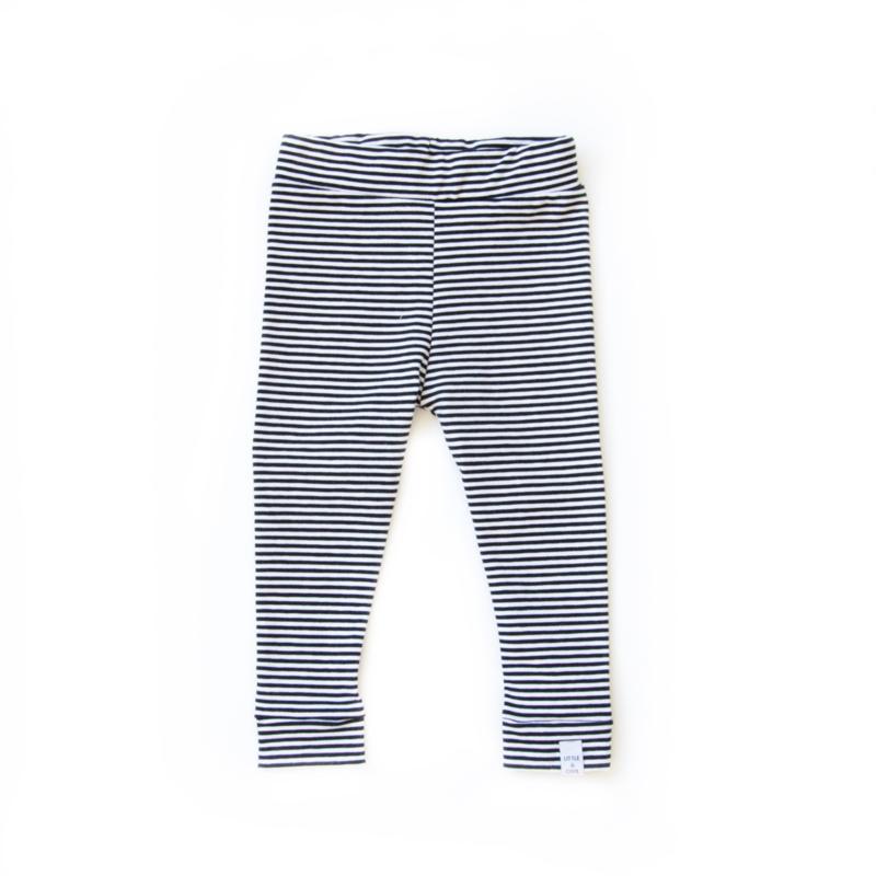 legging - Streepjes Zwart Wit