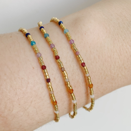 Golden Rainbow Bracelet