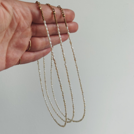 Short freshwater pearl necklace