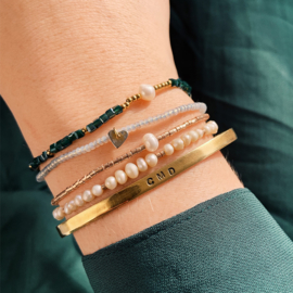 Cube Pearl bracelet